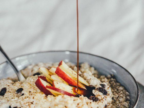 dsc 2911 560x420 - Quinoa Apple Porridge