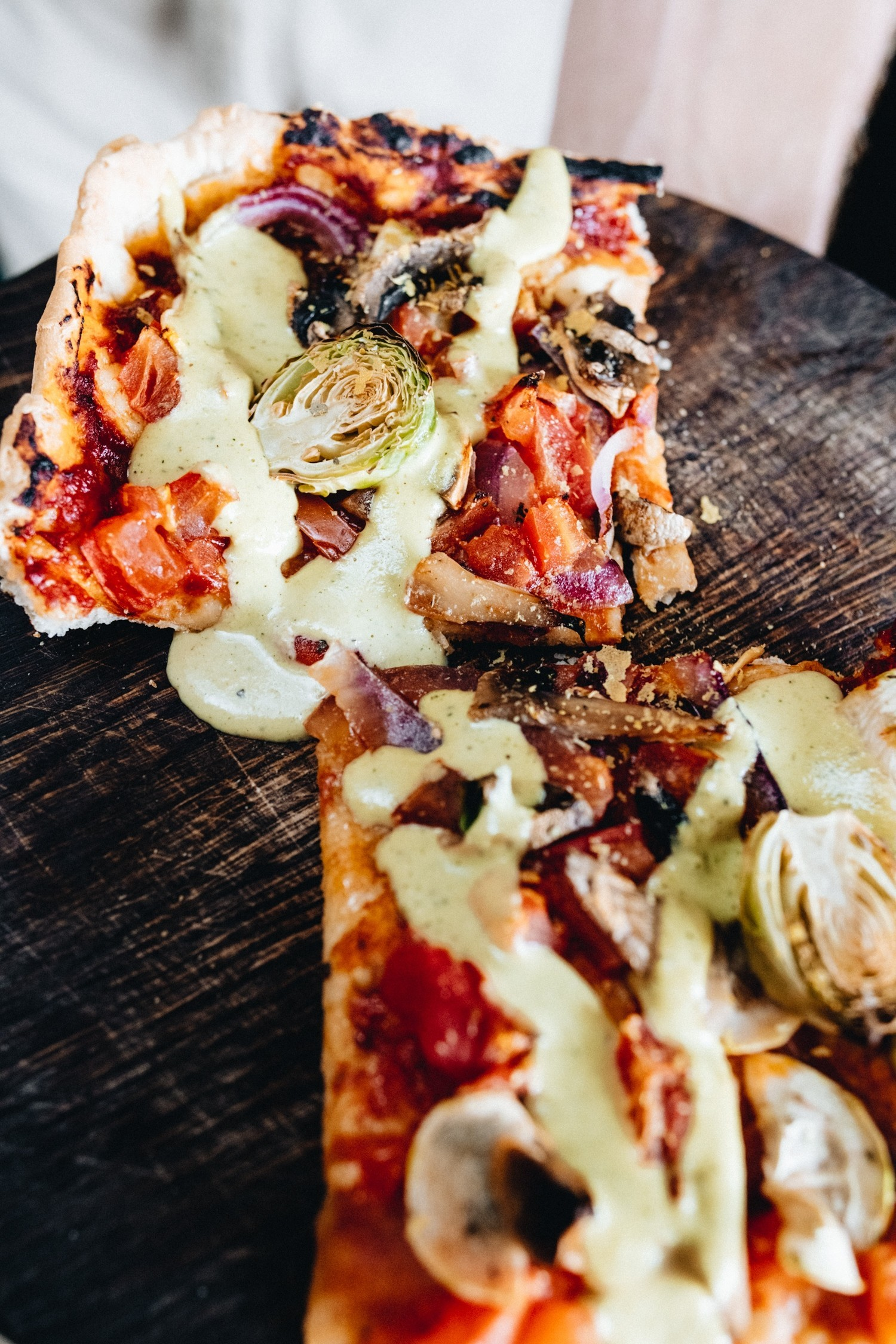 DSC 6829 2 - Italian Veggie Pizza