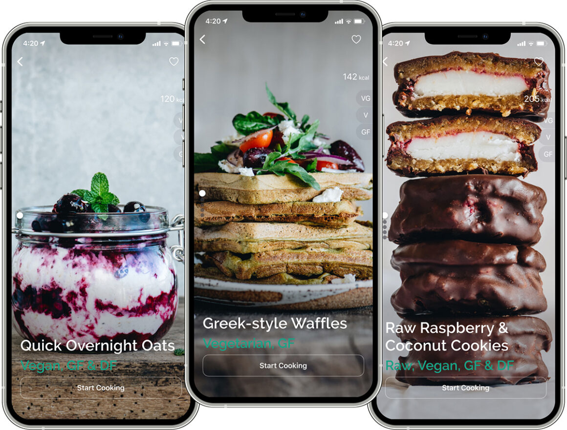 healthy recipes app opt 1160x881 - About Greeny App